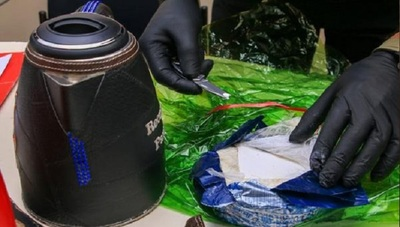 Ásterix, can adiestrado de la SENAD, arruinó envío a España de cocaína oculta en hervidoras eléctricas