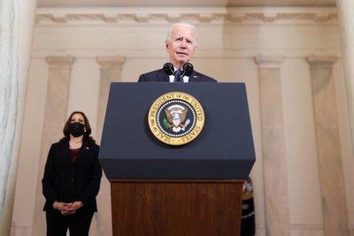 """Joe Biden sobre el veredicto contra Derek Chauvin: """"Esto puede ser un paso gigante en la marcha hacia la justicia"""""""