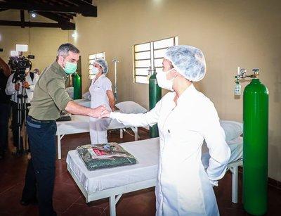 Presidente Mario Abdo habilitará tres nuevas USF en San Pedro y entregará equipamiento a productores