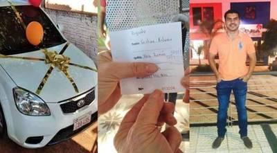 Familia destaca actitud generosa de joven que no retiró auto sorteado – Diario TNPRESS