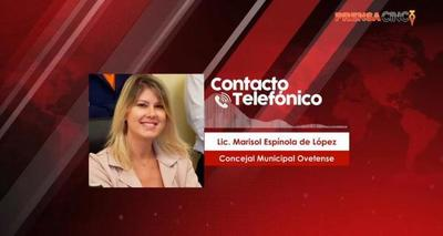 """""""Estamos en una catástrofe, esto es un escenario de guerra""""; dijo Marisol Espínola – Prensa 5"""