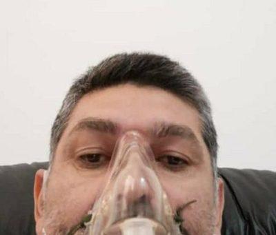 "Dramático relato de Caniza desde el hospital: ""Veo pacientes agonizando"", he'i"