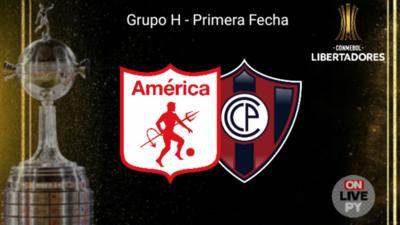 Cerro Porteño se presenta en Colombia