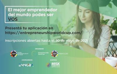 Hasta el 30 de mayo emprendedores pueden postularse a la Copa Mundial de Emprendimiento–EWC 2021