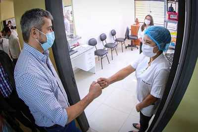 Gobierno inaugura tres USF en San Pedro y brinda importante soporte a la medicina preventiva
