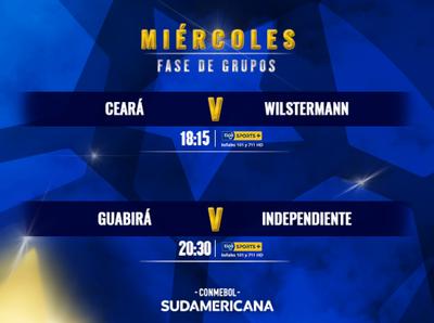 Se abren otros grupos de la Sudamericana