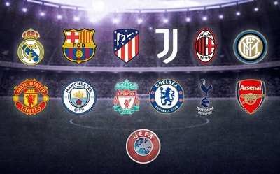 Los clubes italianos renuncian a la Superliga Europea