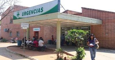 La Nación / En el Hospital de Calle'i también hay pacientes internados en sillones