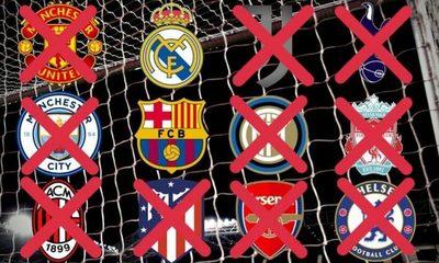 Atlético de Madrid y los italianos también se bajan de la Superliga