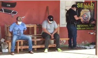 Decretan prisión para sujetos detenidos con cocaína en un lavadero