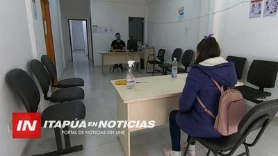 ASISTENCIA A TRABAJADORES EN PANDEMÍA Y CONTROLES SIGUEN DESDE EL MTESS ITAPÚA.