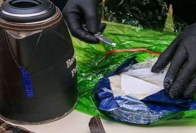 Agentes de la SENAD hallan cocaína en hervidores eléctricos con destino aparente a España