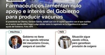 La Nación / LN PM: Las noticias más relevantes de la siesta del 21 de abril
