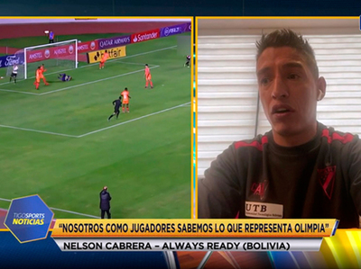 Nelson Cabrera en contacto con Tigo Sports Noticias