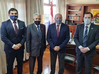 Nuevos directivos de la AMJP se reunieron con titular de la CSJ