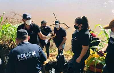Hallan restos óseos a orillas del Aquidabán