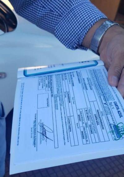 Detectan una red de venta de pólizas de seguro falsificadas