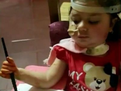 Bianca se recupera de la atrofia muscular espinal