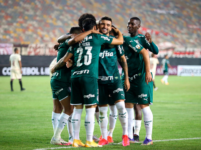 Palmeiras le gana en sobre la hora a Universitario