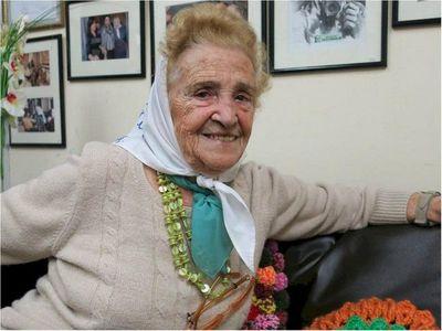Murió Mercedes Colás, vicepresidenta de Madres de Plaza de Mayo