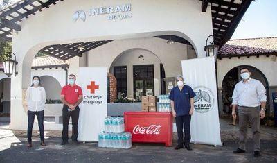 Hospitales reciben donación