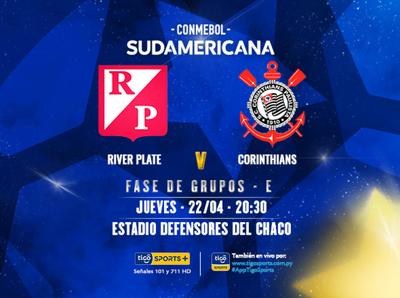 River Plate y un estreno soñado: recibe a Corinthians