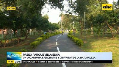 Paseo parque Villa Elisa, un lugar para ejercitarse y disfrutar de la naturaleza