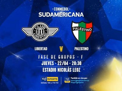 Libertad hace su estreno en la Sudamericana 2021