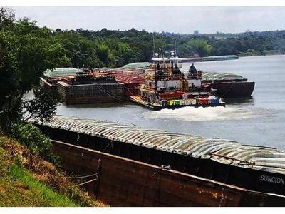 En barcazas y en puertos hay soja varada por USD 350 millones