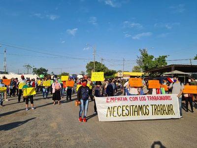 Comerciantes de frontera a la espera del primer desembolso del subsidio