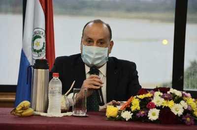 Salomón insta al Abdo Benítez a promulgar ley sobre uso de fondos de binacionales en lucha contra el COVID