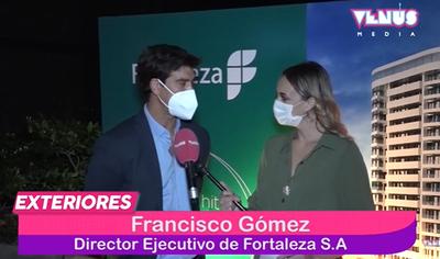 """Fortaleza presentó su próximo edificio """"Fortaleza Molas López"""""""