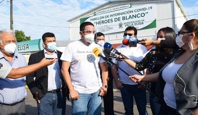"""Habilitan oficialmente el """"Banco de Medicamentos"""" en Villa Elisa."""
