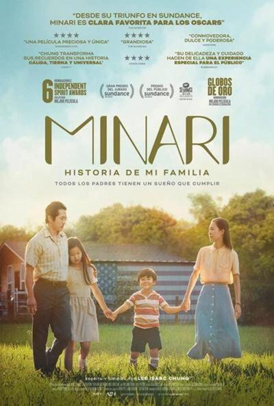 Minari, otra de las grandes candidatas a los Premios Oscar 2021