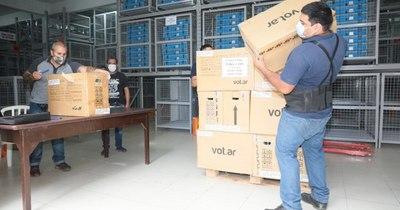 La Nación / Paraguay ya cuenta con las 15.000 máquinas de votación