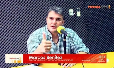 Marcos Benítez rechaza aprobación de pliego de bases y condiciones para explotación de recolección de basura – Prensa 5