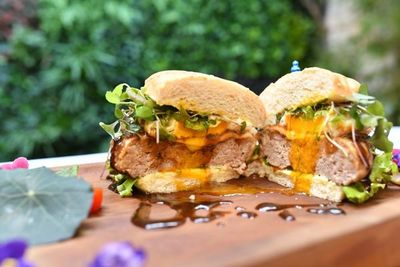 Una hamburguesa baja en calorías ¡disfruta sin culpas!