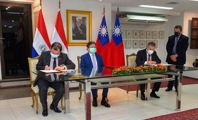 Taiwán dona 16.500.000 dólares a Paraguay para compra de vacunas contra el covid