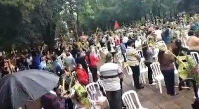 Imputan a sacerdote de Capiatá por permitir aglomeración el domingo de ramos
