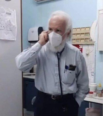 Dr. Irrazabal, un genio en la medicina que es tendencia en Twitter