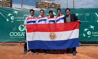 Tenistas paraguayos se hacen sentir en el ITF J3 de Costa Rica