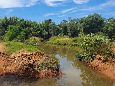 Denuncian desvío de arroyo y grave delito ambiental en San Pedro del Paraná