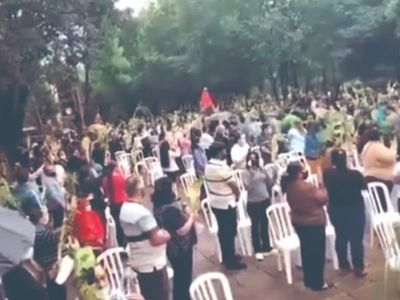 Cuarentena: Imputan a pa'i por aglomeración en una misa