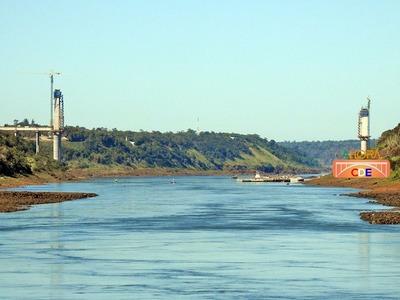 Obras del SEGUNDO PUENTE avanzan más RAPIDO en el lado brasileño