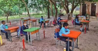 La Nación / Niños tuvieron la oportunidad de definir cómo es la escuela de sus sueños