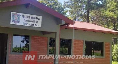 ITAPÚA POTY: HOMBRE LESIONADO CON MACHETE.