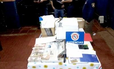 """""""Laboratorio de falsificaciones"""" es desmantelado en Santa Rita"""