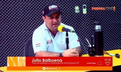 Julio Balbuena señala como acto delictuoso lo promovido por la Junta Municipal de Coronel Oviedo – Prensa 5