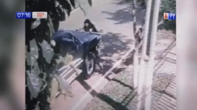Capturan a ocupantes de vehículo que atropellaron a ciclista en Guairá