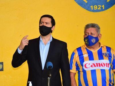 Rodríguez asumió la presidencia del Sportivo Luqueño